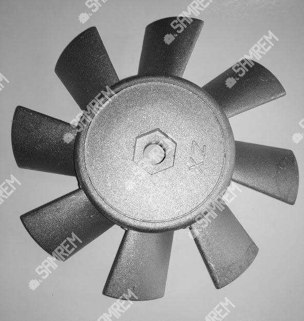 Крыльчатка вентилятора мотоблока/мототрактора