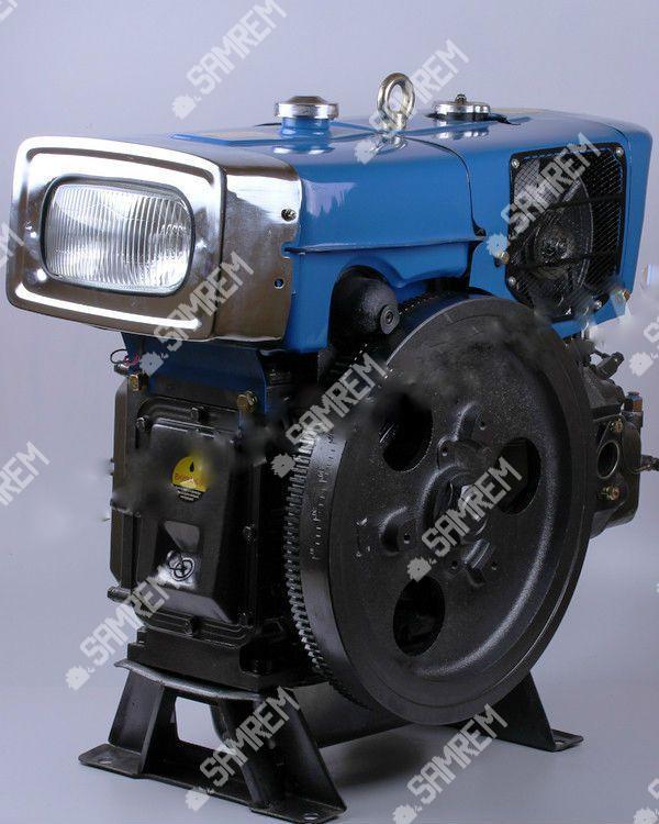 Дизельный двигатель на мотоблок ZS1100 15 л.с. с электростартером