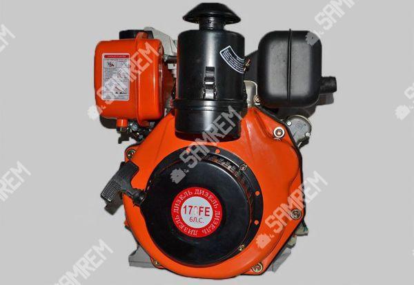 Дизельный двигатель Витязь 178F - (под шлицы Ø25mm) (6 л.с.)