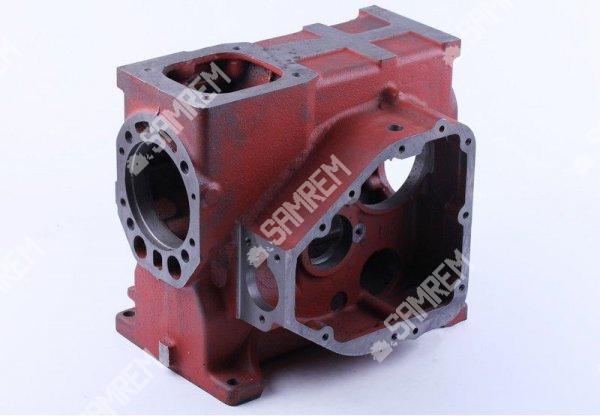 Блок цилиндра двигателя мотоблока 8 л.с. R180N короткая крышка