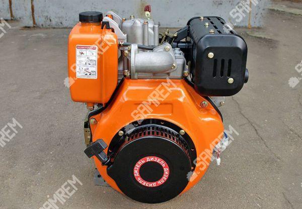 Дизельный двигатель Витязь 186F - (под шлицы Ø25mm) (9 л.с.)