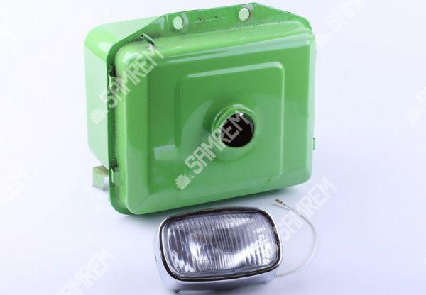 Бак топливный с фарой для мотоблока R175/180 выступающая горловина