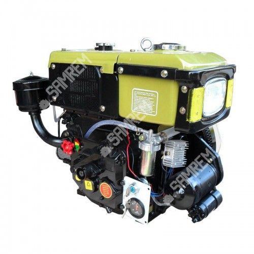 Дизельный двигатель на мотоблок 8 л.с. R180NDL-ZUBR с электростартером